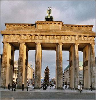 brandenburger tor berliini