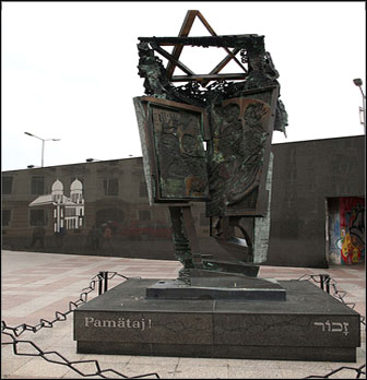 jewish memorial bratislava