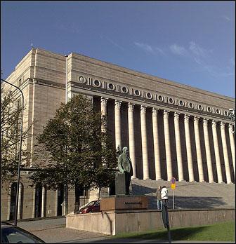 Eduskuntatalo Helsinki