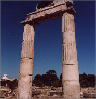 Kos Asklepieion temple ruins