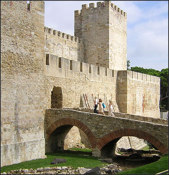 Castelo de São Jorge -linnoitus, Lissabon