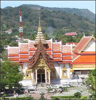 Wat Chalong Buddha Temple Phuket