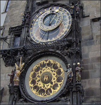 stare mesto clock prague