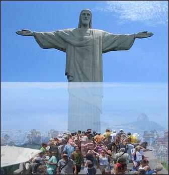 Kristus patsas madeira