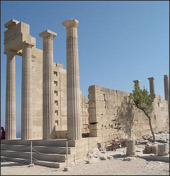 rhodes lindos acropolis