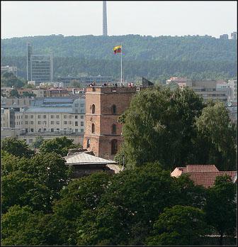 gediminas tower vilnius